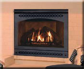 Quadra-Fire Gas Fireplace