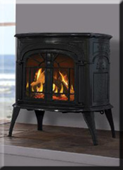 Intrepid Cast Iron Direct Vent Gas Stove
