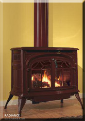 Stardance Cast Iron Direct Vent Gas Stove